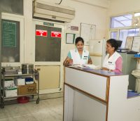 KUC Hospital Reception